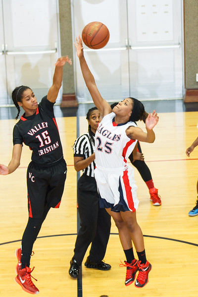 RCS Varsity Girls' Basketball - Jan. 27, 2015