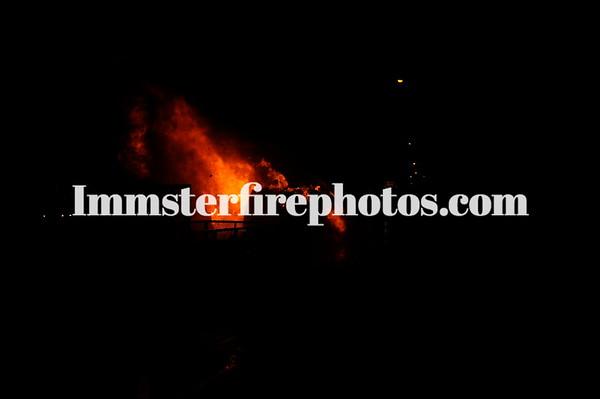 SYOSSET JERICHO VAN FIRE