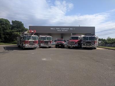 Wall Fire Company No.1  West Belmar N.J.