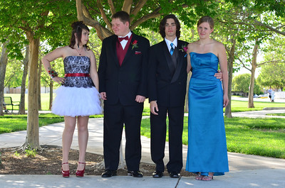 Prom 2012 - Katie and Friends