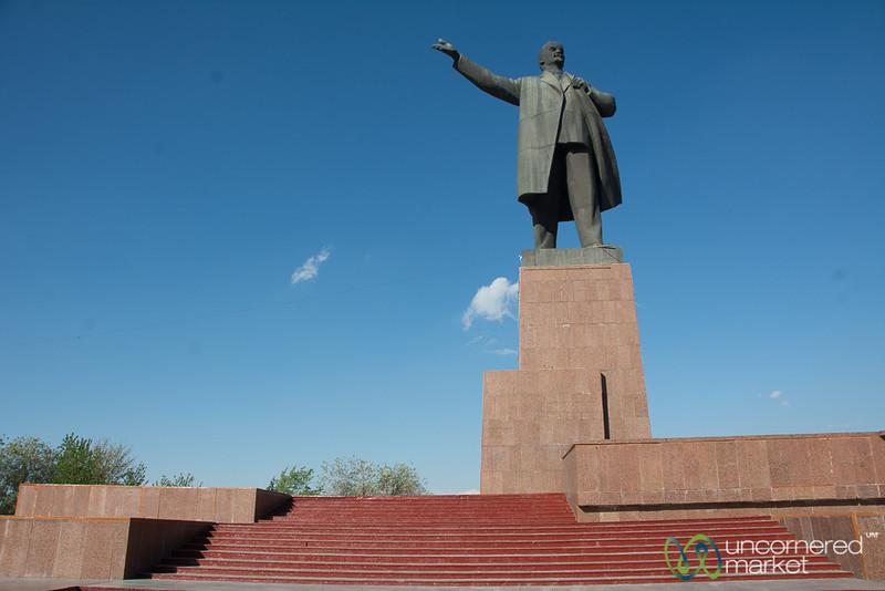 Lenin Statue - Osh, Kyrgyzstan