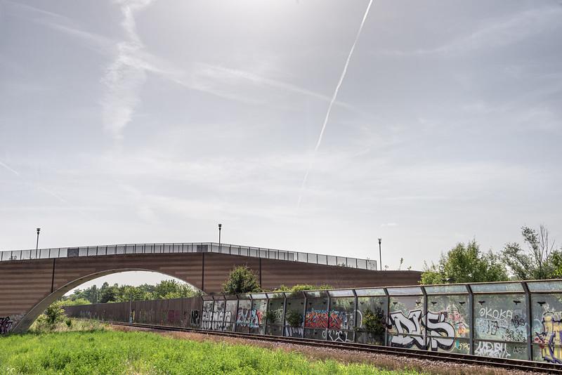 Reggio Emilia-Ciano d'Enza Railway - Reggio Emilia, Italy - June 9, 2019