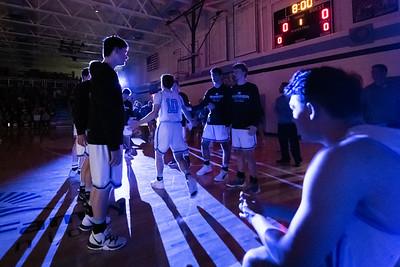 1-10-20 Garber Girls & Boys Varsity Basketball