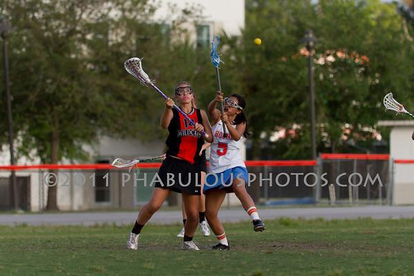 Boone Girls JV Lacrosse 2011 - #5