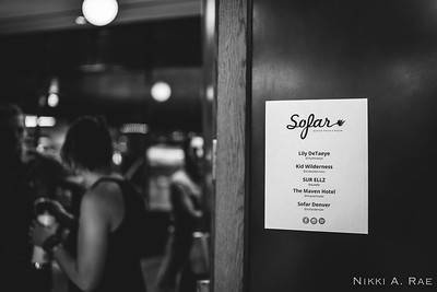 Sofar Denver | Lily DeTaeye, Kid Wilderness, SUR ELLZ at The Maven Hotel | 05.31.2019