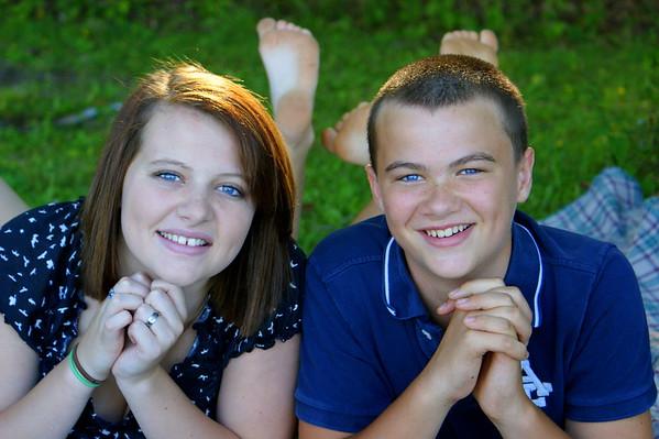 Morgan &  Ben Summer 2011