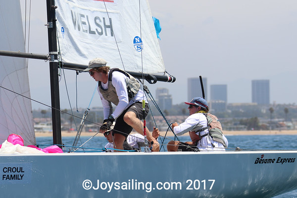 Day 3 of the Youth Match Racing World Championship
