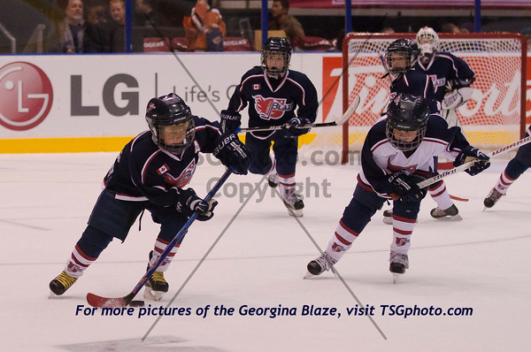 Oct 15 - Marlies vs. Erie Monsters (Home Opener) Incl. Pre-game, Timbits and Georgina Blaze pics.