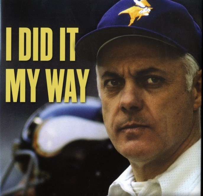 """. <p><b> A new book by Bud Grant reveals for the first time that the former Vikings coach did this in 2004� </b> <p> A. Briefly considered returning to coach the Vikings  <p> B. Weighed a run for the U.S. Senate  <p> C. Killed two drifters and disposed of them using his woodchipper  <p><b><a href=\'http://www.twincities.com/sports/ci_23894018/bud-grant-vikings-asked-me-replace-mike-tice\' target=\""""_blank\"""">HUH?</a></b> <p>  (Courtesy photo)"""
