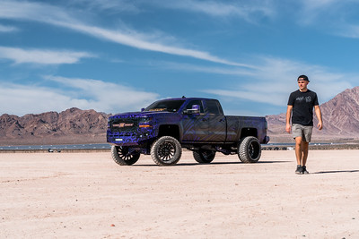 @tonymaraney 2016 @Chevrolet Silverado1500 24x16 featuring our #SWITCH from our Special Force Series wrapped in 35x15.50r24 @furyoffroadtires