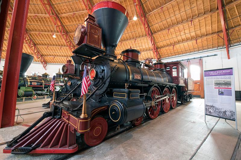 B and O Railroad Museum - February