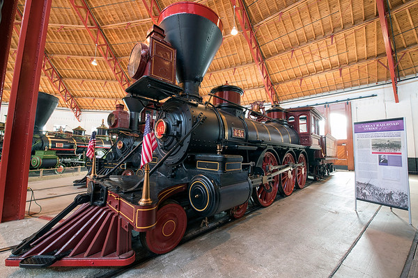 B and O Railroad Museum - February