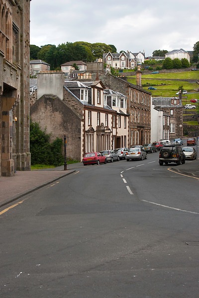 Street in Rothesay, Bute