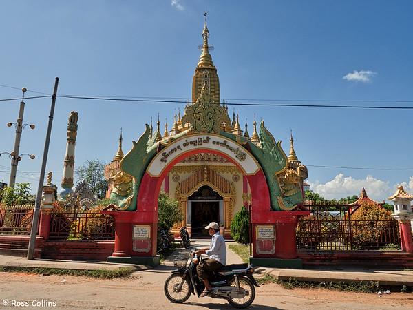 Chan Thar Ya Pagoda, Banmaw