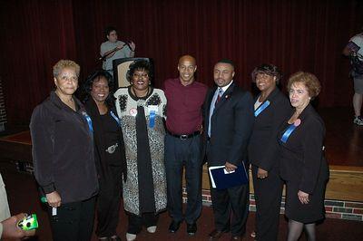 """Show Up Community Meeting """"Eliminate The Achievement Gap"""" Sept 19, 2005"""