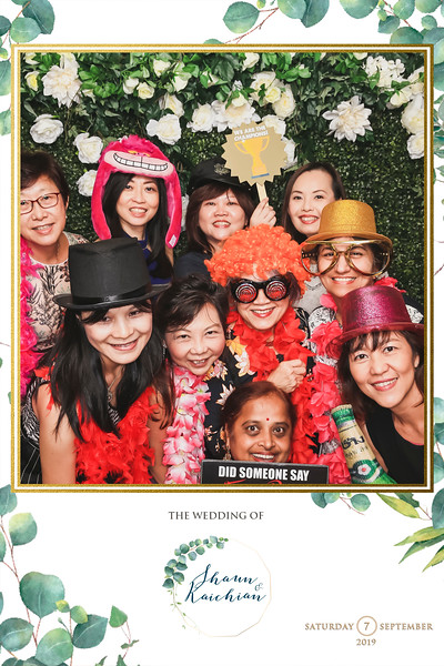 Wedding of Shaun & Kaichian | © www.SRSLYPhotobooth.sg
