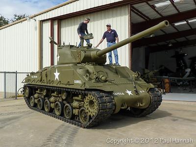M50 Super Sherman - Cavanaugh Flight Museum - Addison, TX