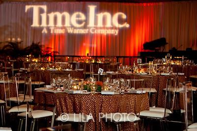 Time-Warner & Colgate Reception