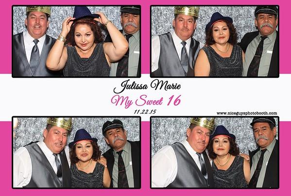 Julissa's Sweet 16 - 11.22.15