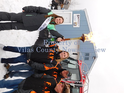 Badger State Winter Games Torch Ride