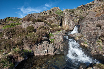 The Bell Tarn Beck and Seathwaite Tarn