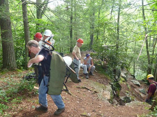 2013 Tennessee Eastman Trail Work 8/3/13