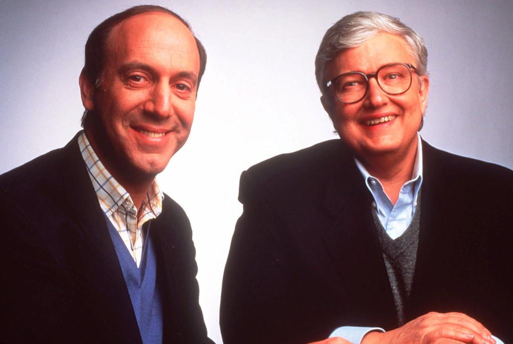 . Film critics Gene Siskel, left, and Roger Ebert are shown in a 1994 photo. (AP Photo/Buena Vista Television)