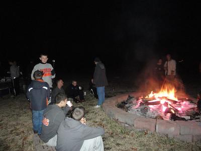 Scouts Build MB Skills and a Bonfire