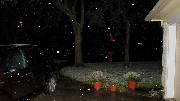Snow In Houston