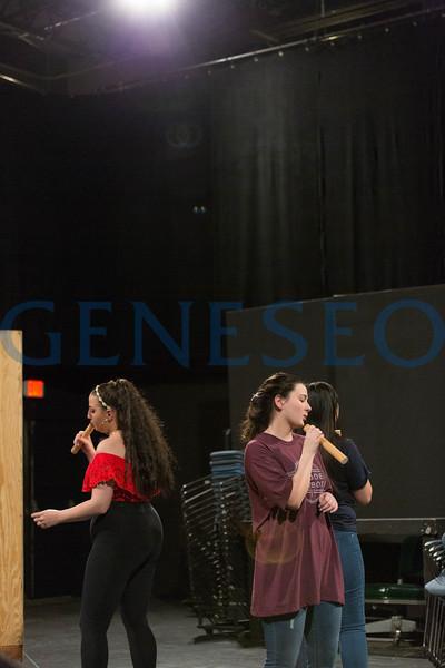 Da Mayah Set Production (Photos by Annalee Bainnson)