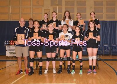 Girls D2 Team Pics