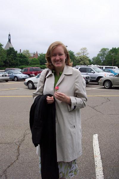Rebecca Miller CMU Graduation