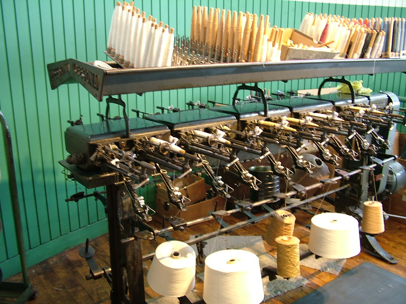 Thread for looms - Boott Cotton Mill - Lowell, MA