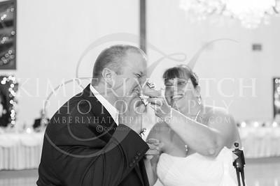 Cake Cutting Reception- Lynn Segarra & Todd Roselli Wedding Photography- Shaker Farms Country Club- Westfield, MA New England
