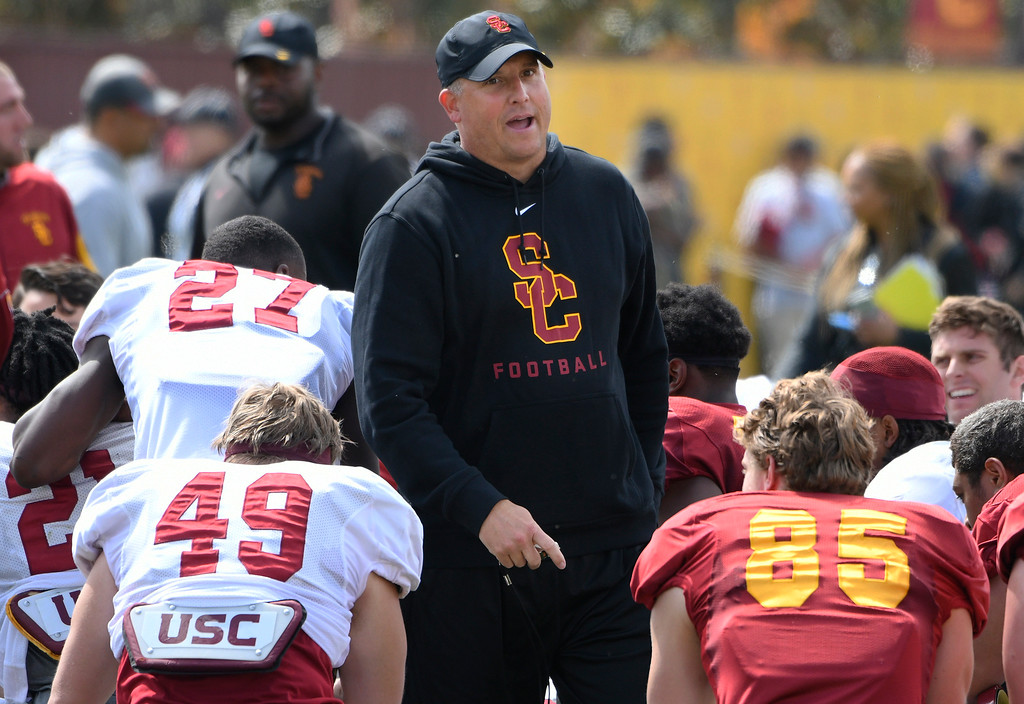 . <b>28. Clay Helton, 45, USC Football Coach </b> <br>After a tumultuous beginning to his first season, a nine-game winning streak Trojan fans hope will spill over into 2017 ... (Photo by John McCoy, Los Angeles Daily News/SCNG)