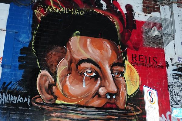 Melbourne Street Art - 2017