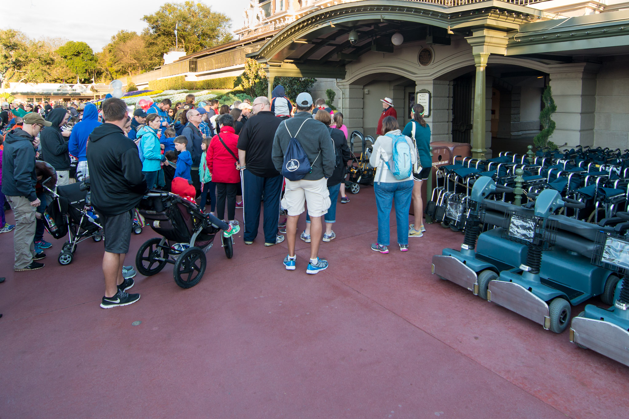 Rope Drop - Walt Disney World Magic Kingdom