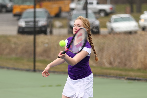 Tennis Girls vs St Philip - KCHS 4/12/18