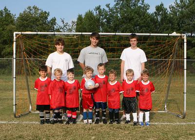 YMCA U-6 Boys 9-15-2007 team Anderson