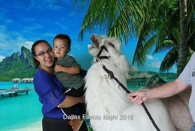 Dallas Family Night Photobooth 8.21.2019