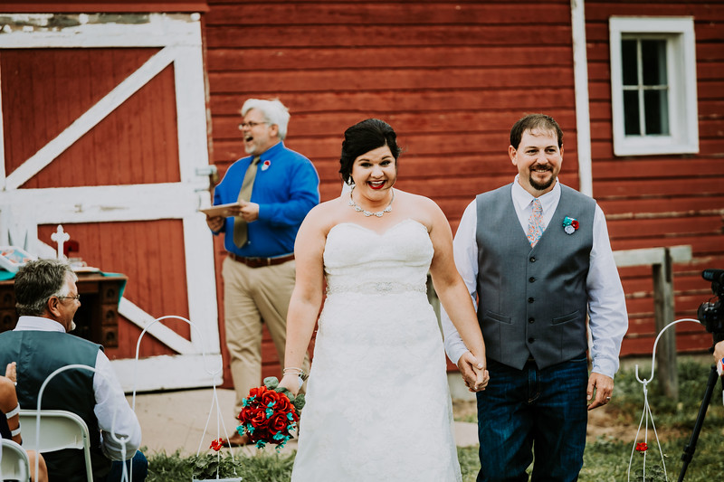 Exiting Ceremony & Greeting Guests