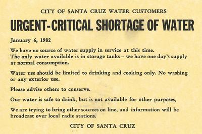Santa Cruz Flood - January 1982