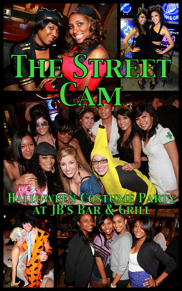 The Street Cam: Halloween Costume Party @ JB's Bar & Grill