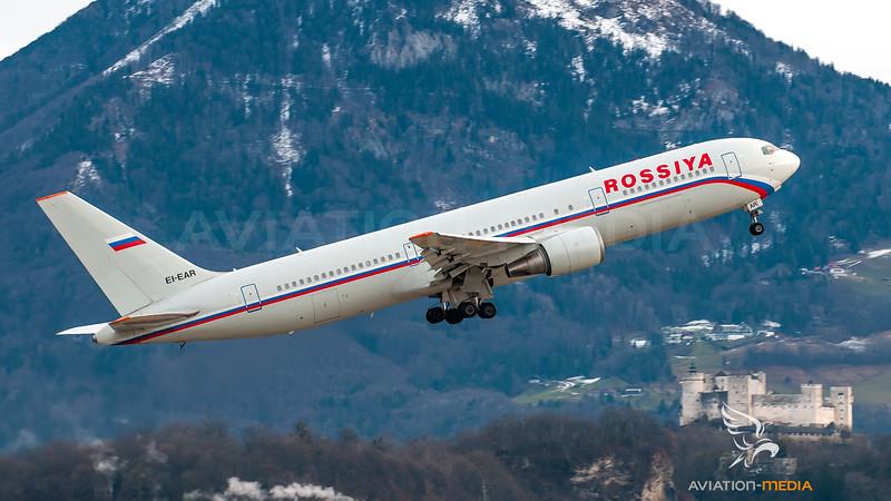 Rossiya Boeing B767-300 EI-EAR