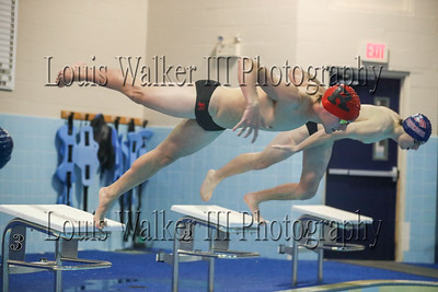 Swimming - Portsmouth at Rogers on 1/16/2020