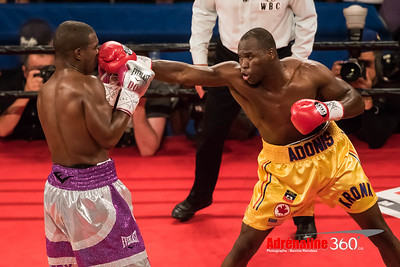 2016 - Gala de boxe STEVENSION vs WILLIAM