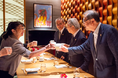 Almuerzo con los ex-embajadores
