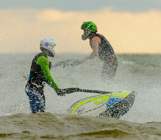 Jet Skiers  At Edgewater and more 7/3/14