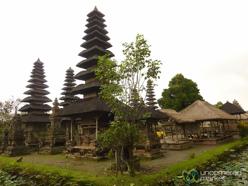 Moat and Temples of Taman Ayun - Bali, Indonesia