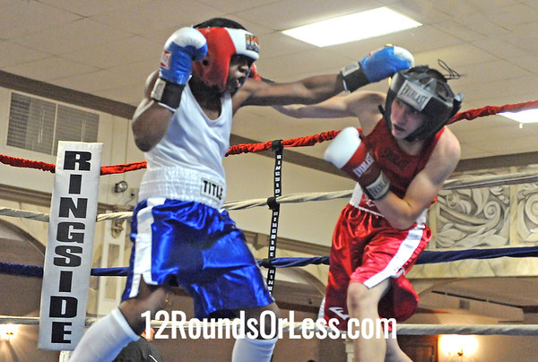 Bout 6 Charles Canwell, Untouchable Boxing -vs- Kezin King, Good Shephard 132 lbs